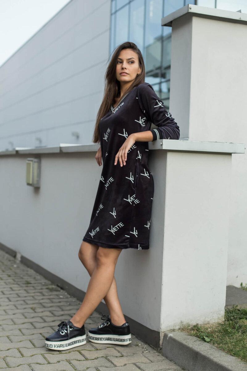 2031-BK Czarna sukienka Bernice (4)
