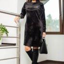 2059-BK Czarna sukienka Sapphira (1)