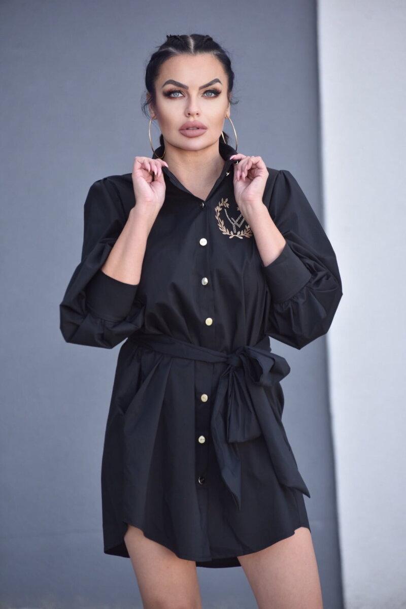 2089-BK Czarna koszula Adele (3)